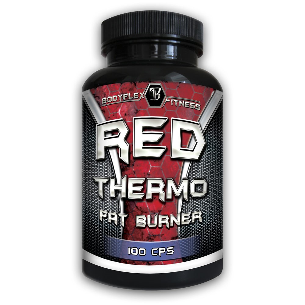 Red Thermo Fat Burner 100pcs